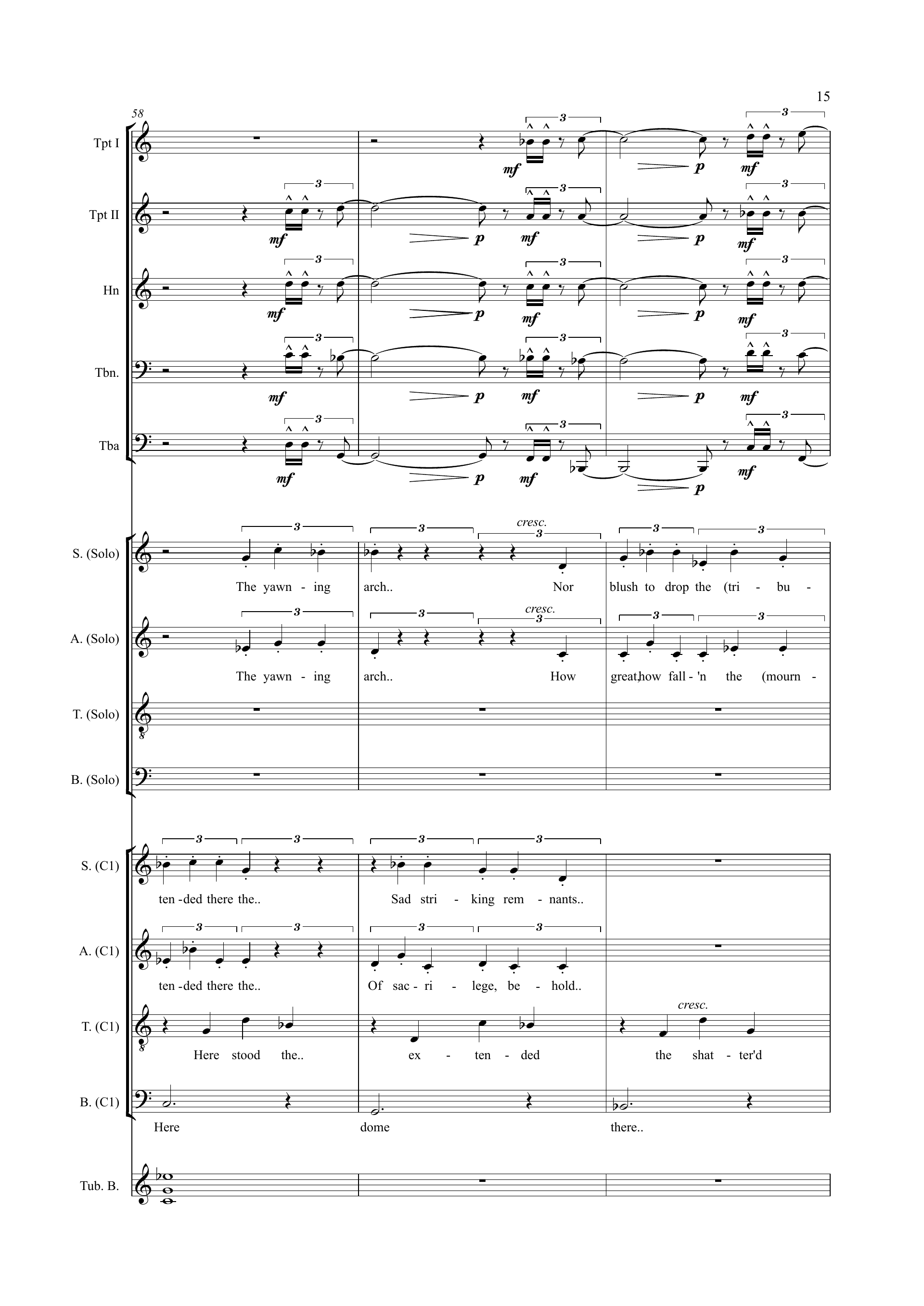 How Great, How Fall'n Sample Page