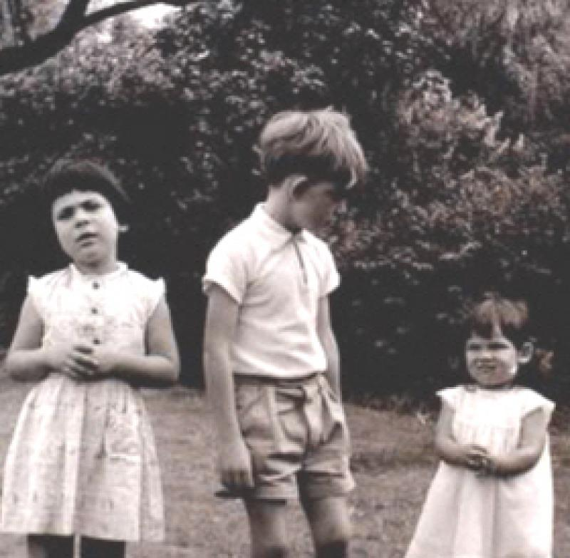 Chris Best with relatives c1965